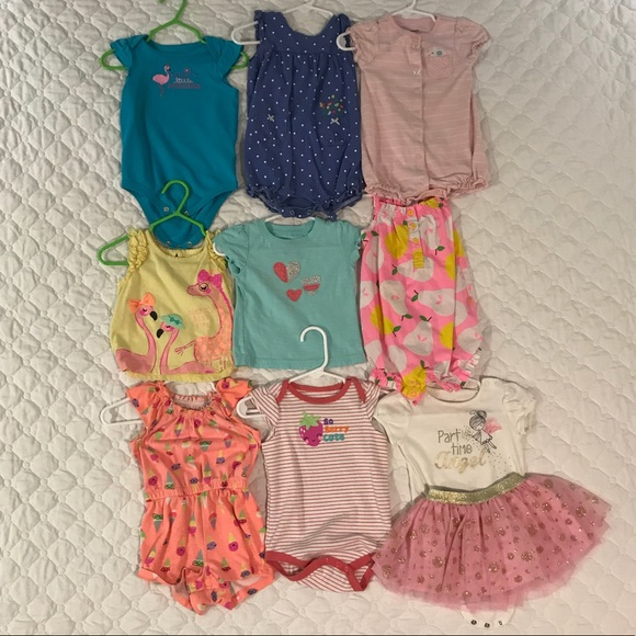 Bundle Of 12 Month Old Baby Girl Clothes Poshmark